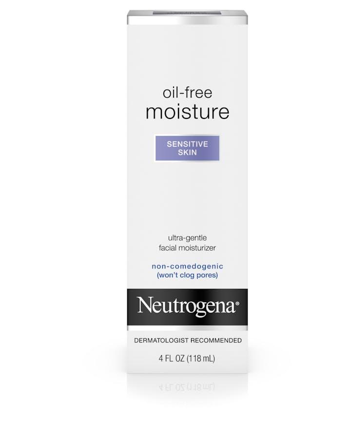 Neutrogena® Oil-Free Face Moisturizer for Sensitive Skin, Fragrance-Free, Non-Comedogenic