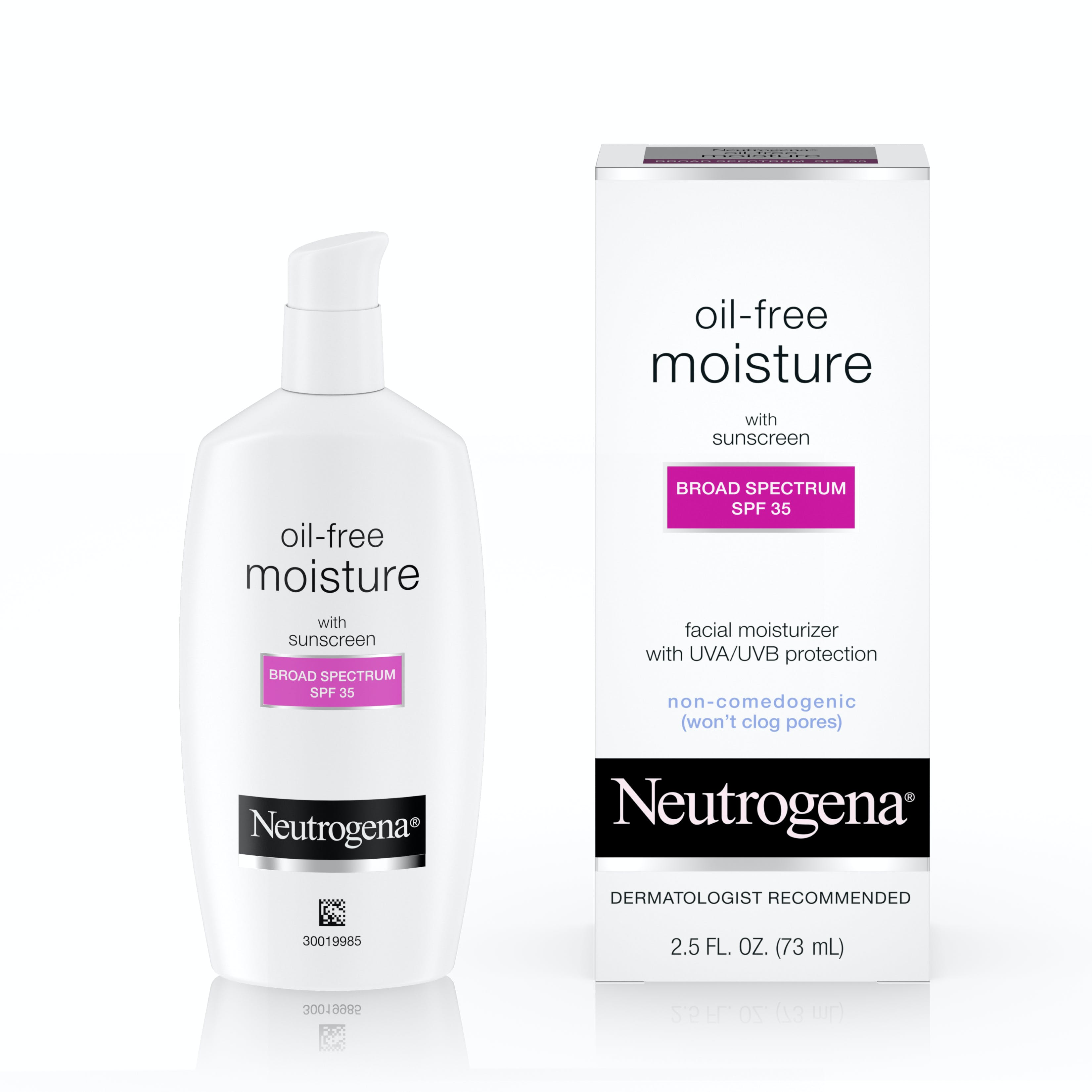 Oil free facial moisturizer