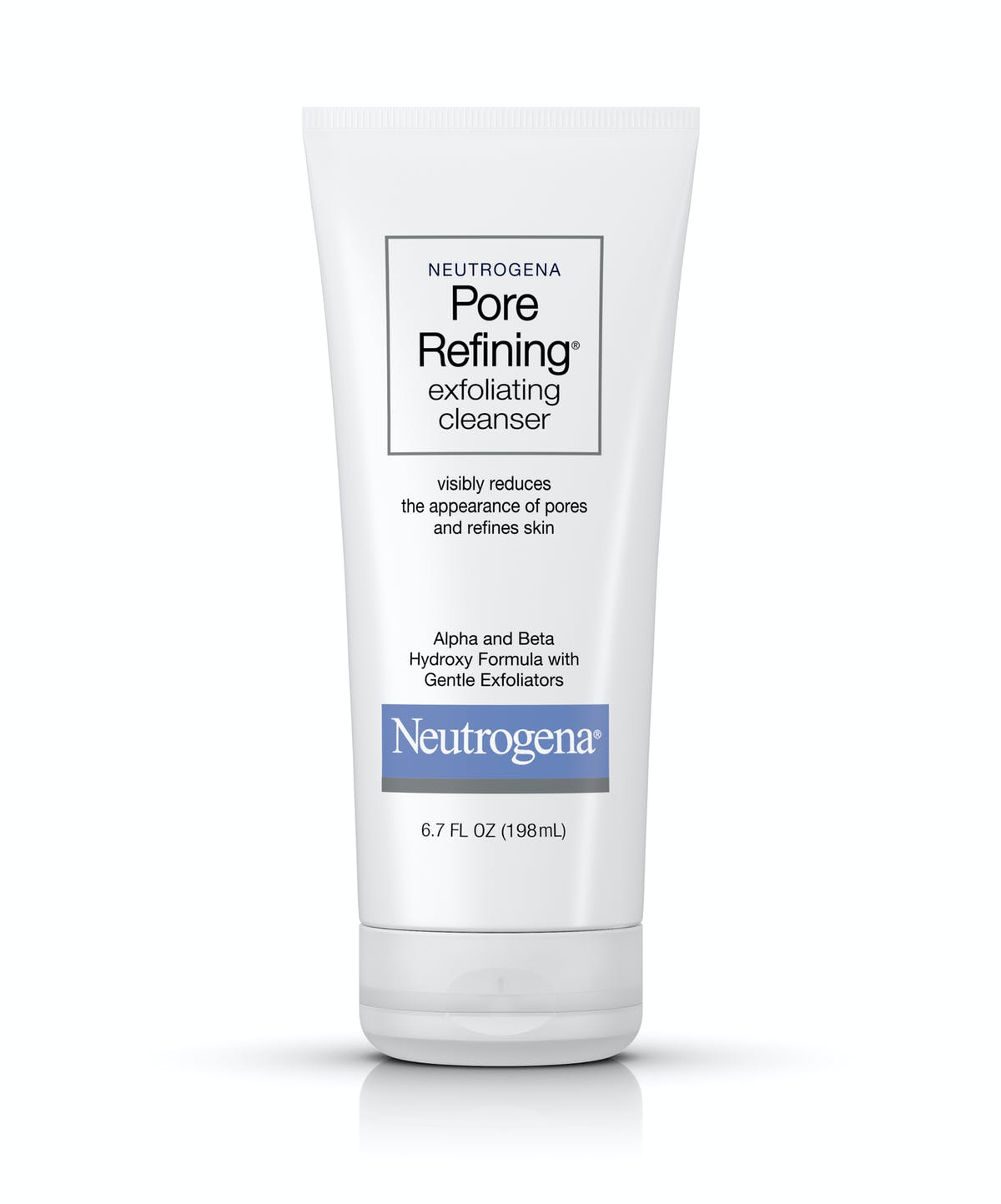 Neutrogena Pore Refining Exfoliating Facial Cleanser Neutrogena
