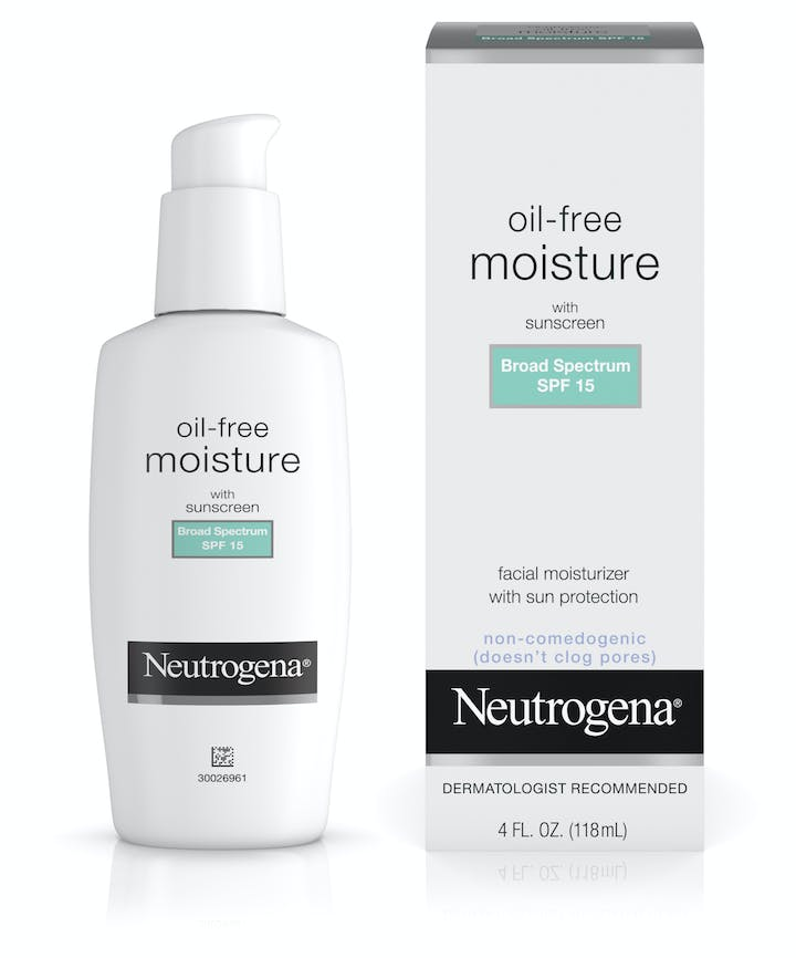 Neutrogena Oil-Free Moisture Broad Spectrum SPF 15