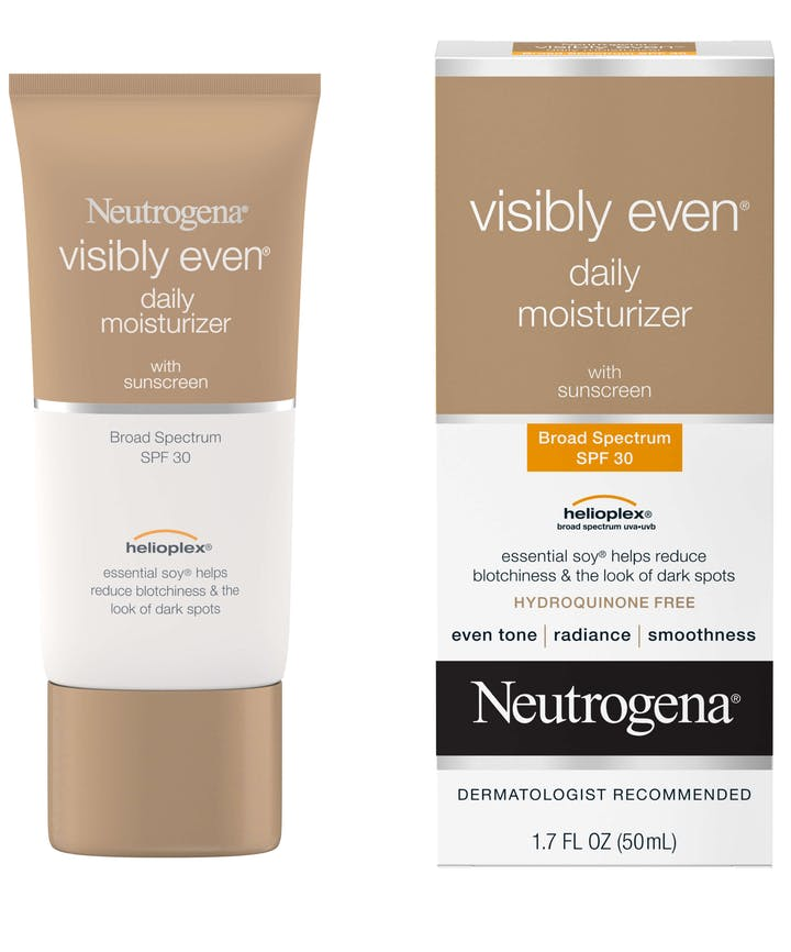 Neutrogena Visibly Even® Daily Moisturizer with Sunscreen Broad Spectrum SPF 30