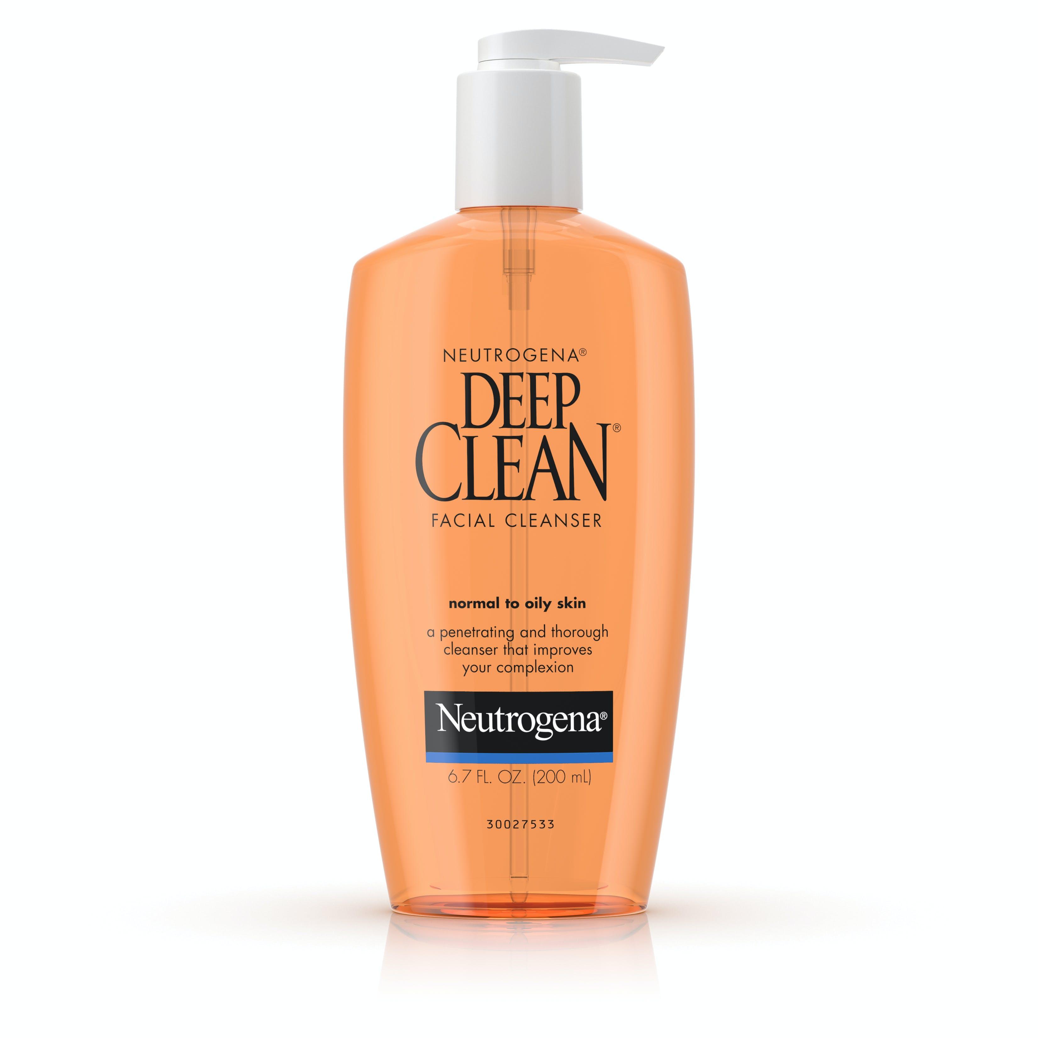 Sheer cover facial wash
