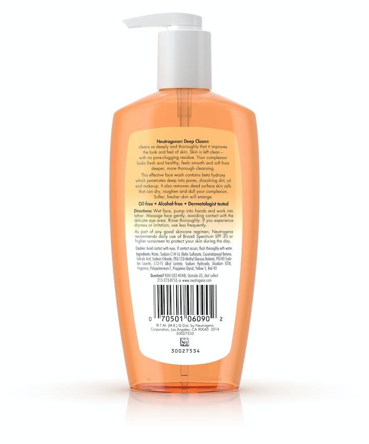 Deep Clean® Facial Cleanser
