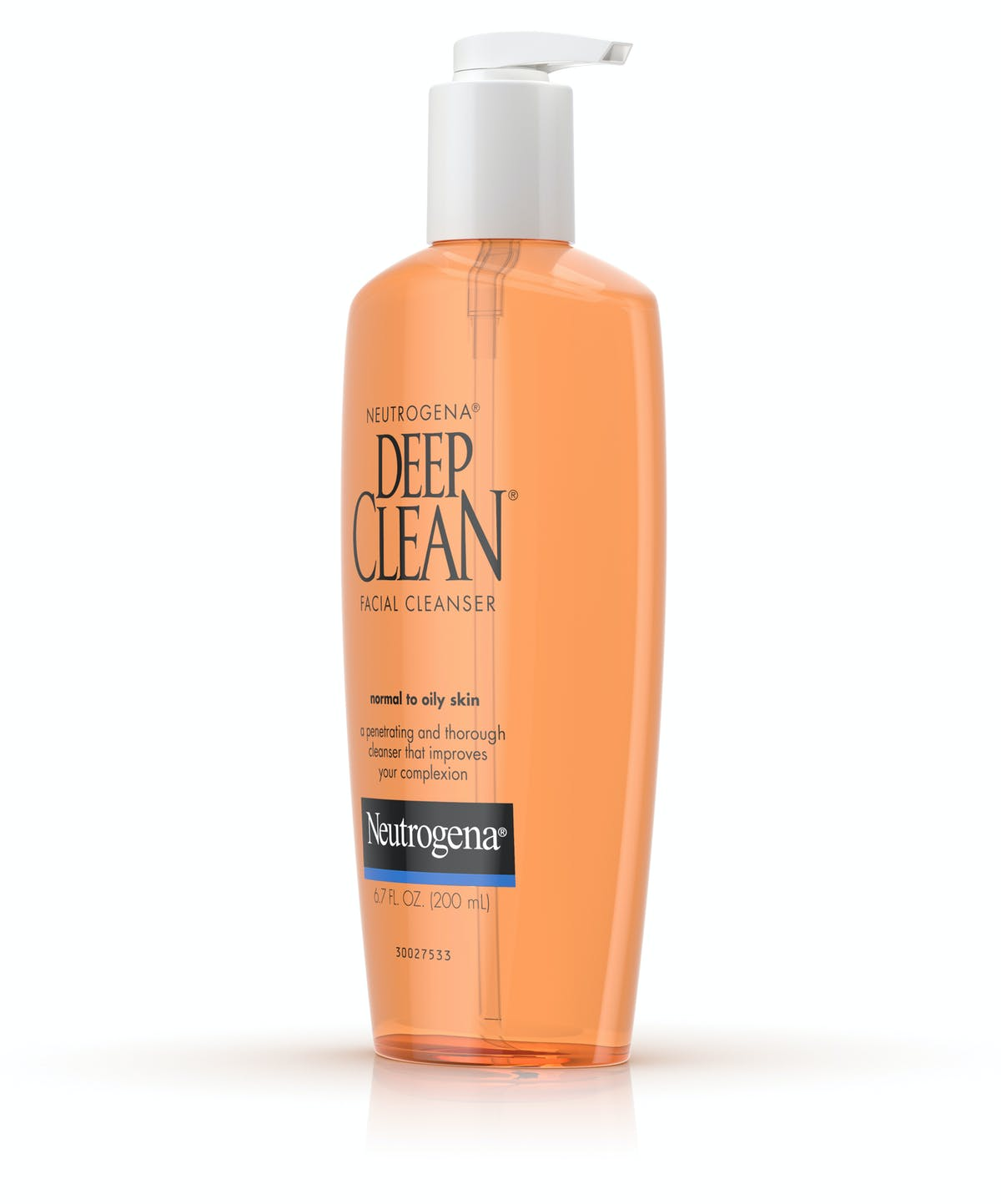neutrogena deep clean face wash