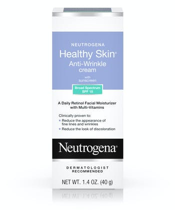 Healthy Skin Anti-Wrinkle Cream with Sunscreen Broad Spectrum SPF 15