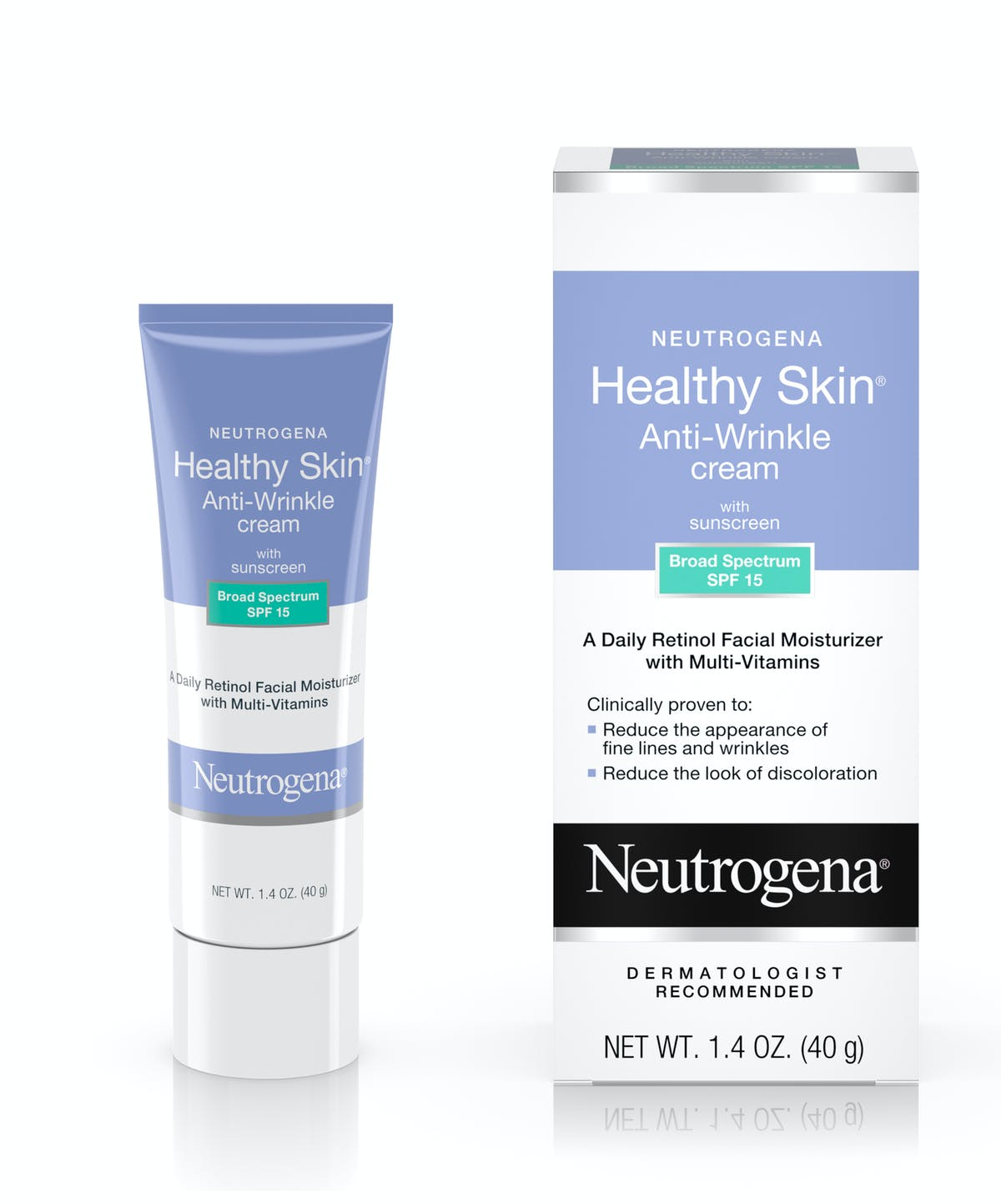 5ebe465576a Healthy Skin Anti-Wrinkle Cream with Sunscreen SPF 15