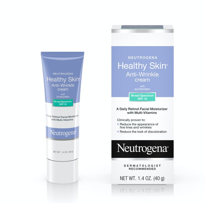 Neutrogena Healthy Skin Anti-Wrinkle Cream with Sunscreen Broad Spectrum SPF 15