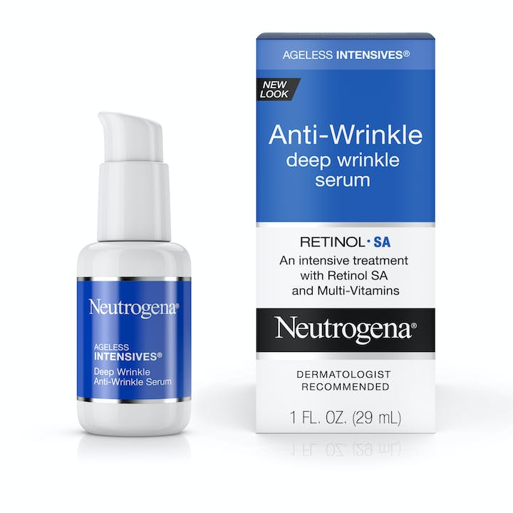 Neutrogena Ageless Intensives® Anti-Wrinkle Deep Wrinkle Serum