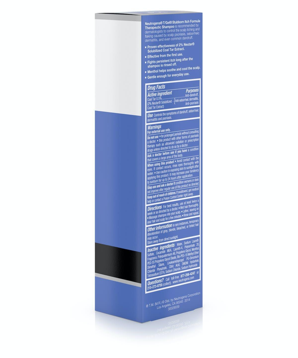 T Gel Therapeutic Stubborn Scalp Itch Shampoo Neutrogena Head Ampamp Shoulder Sampo Cool Menthol 680 Ml Gelreg