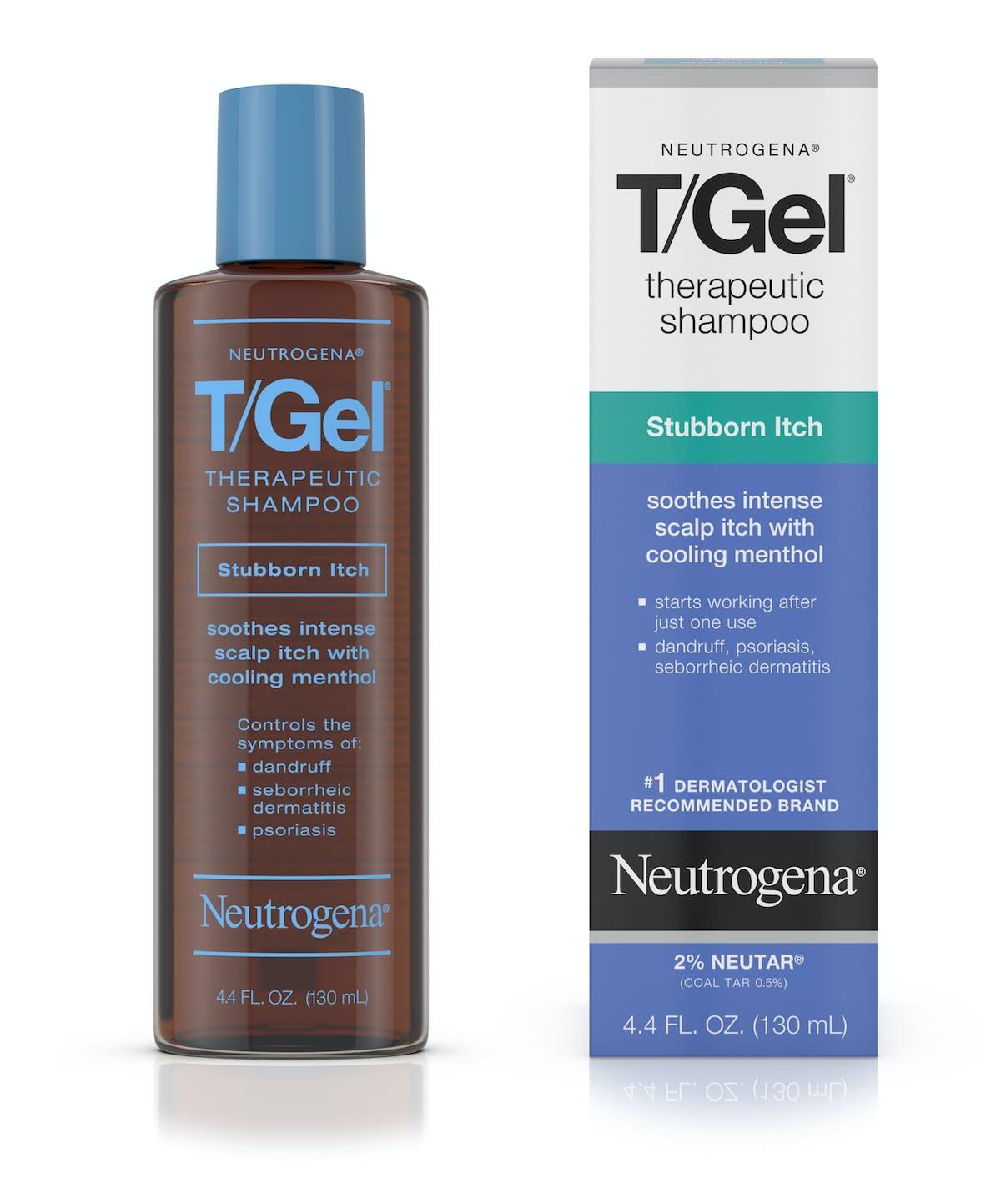T Gel Therapeutic Stubborn Scalp Itch Shampoo Neutrogena
