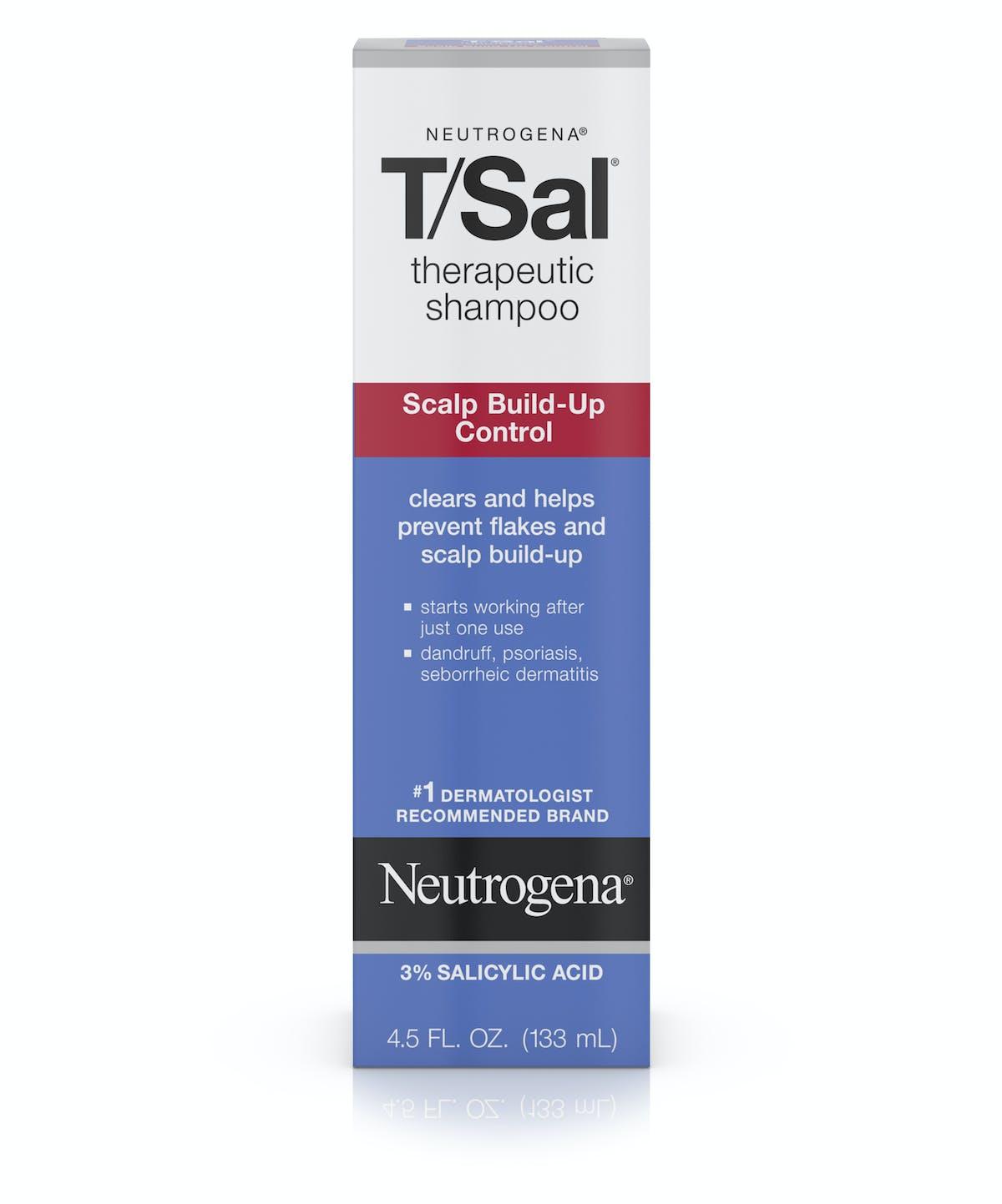 T Sal Therapeutic Shampoo Scalp Build Up Control Neutrogena