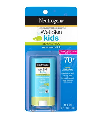 Neutrogena Wet Skin Kids Stick Sunscreen Broad Spectrum SPF 70