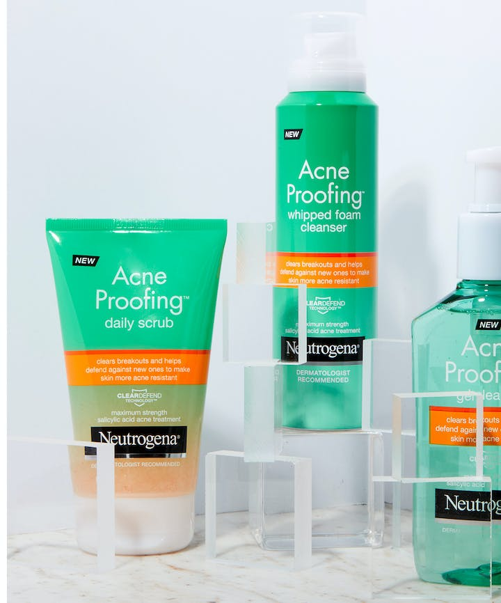 Acne Proofing Gel Facial Cleanser with Salicylic Acid