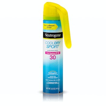 Cool Dry Sport Water-Resistant Sunscreen Spray, SPF 30, 5 oz