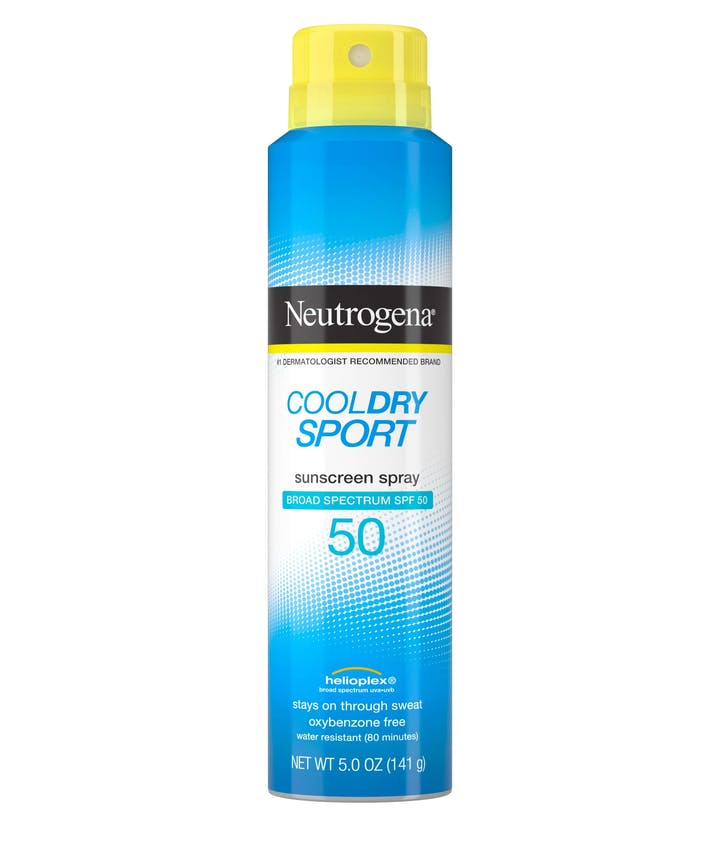 Neutrogena Cool Dry Sport Water-Resistant Sunscreen Spray, SPF 50, 5 oz