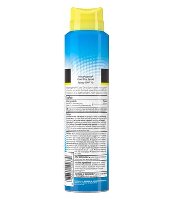 Cool Dry Sport Water-Resistant Sunscreen Spray, SPF 70, 5 oz