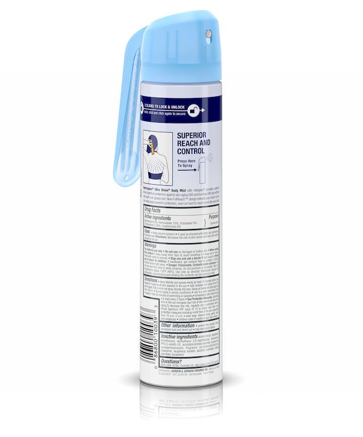 Ultra Sheer® Sunscreen Spray, SPF 45