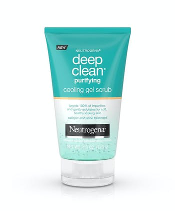 Deep Clean® Purifying Cooling Gel Scrub