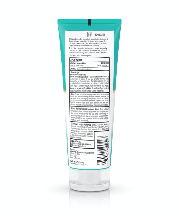 Deep Clean® Purifying Clay Cleanser & Mask