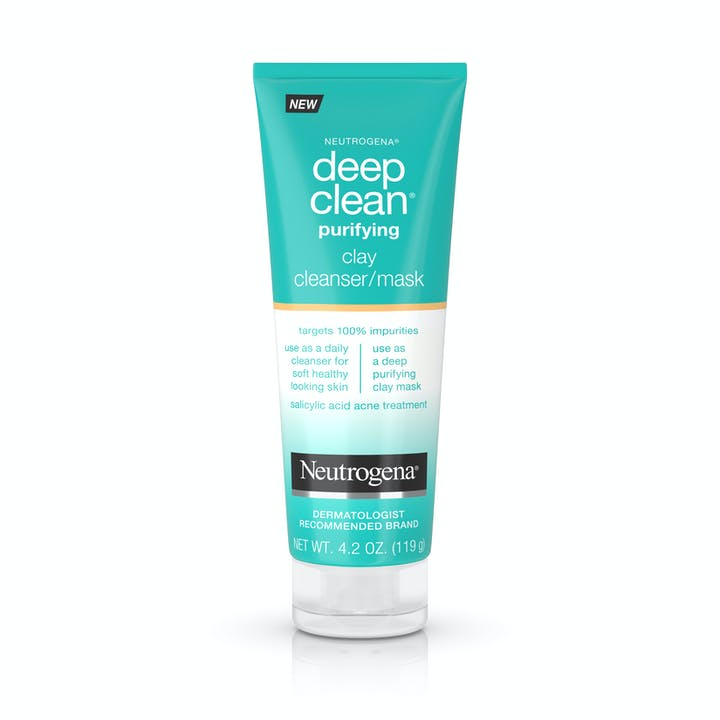 Neutrogena Deep Clean® Purifying Clay Cleanser & Mask