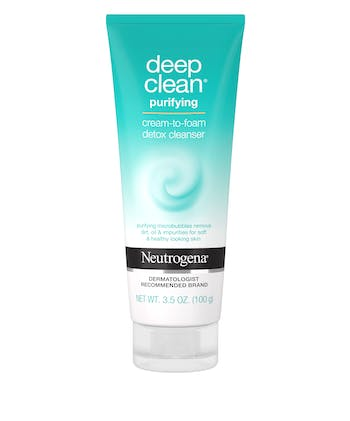 Deep Clean® Purifying Cream to Foam Detox Cleanser
