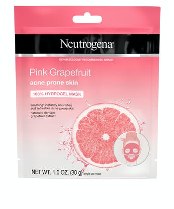 Neutrogena® Pink Grapefruit Acne Prone Skin 100% Hydrogel Mask