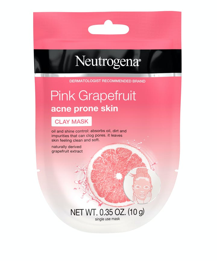 Neutrogena Neutrogena® Pink Grapefruit Acne Prone Skin Clay Mask