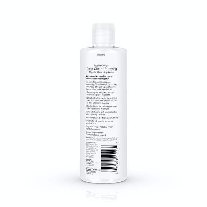 Deep Clean® Purifying Micellar Cleansing Water