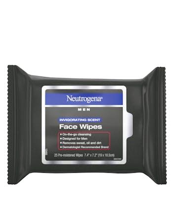 Neutrogena® Men Invigorating Scent Face Wipes