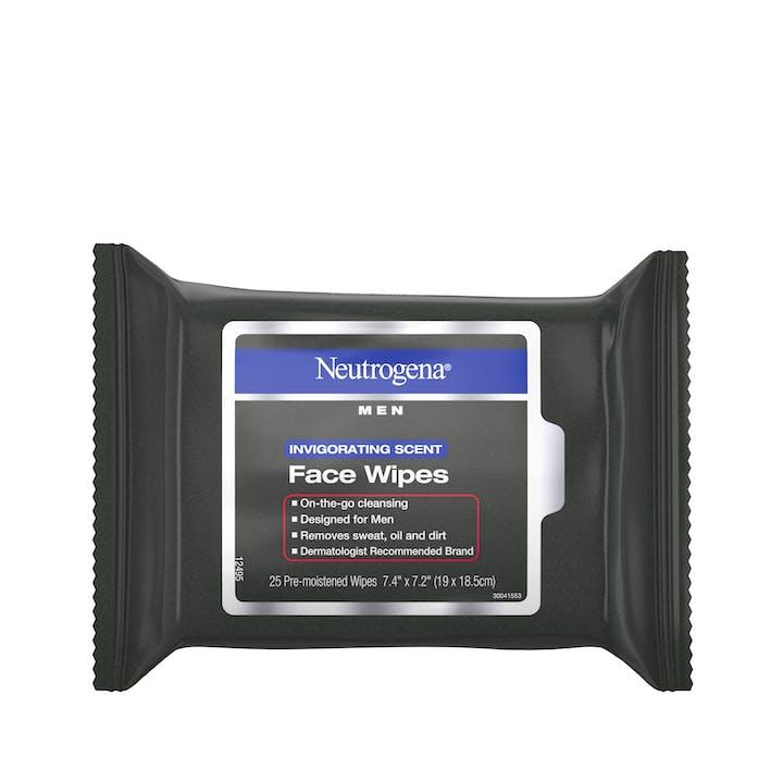 Neutrogena Neutrogena® Men Invigorating Scent Face Wipes
