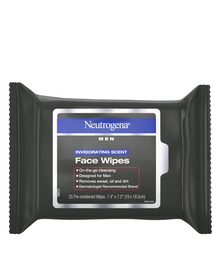 Neutrogena Neutrogena® Men Invigorating Scent Face Wipes