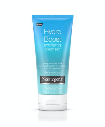 Neutrogena Hydro Boost Daily Gel Cream Exfoliating Cleanser with Hyaluronic Acid