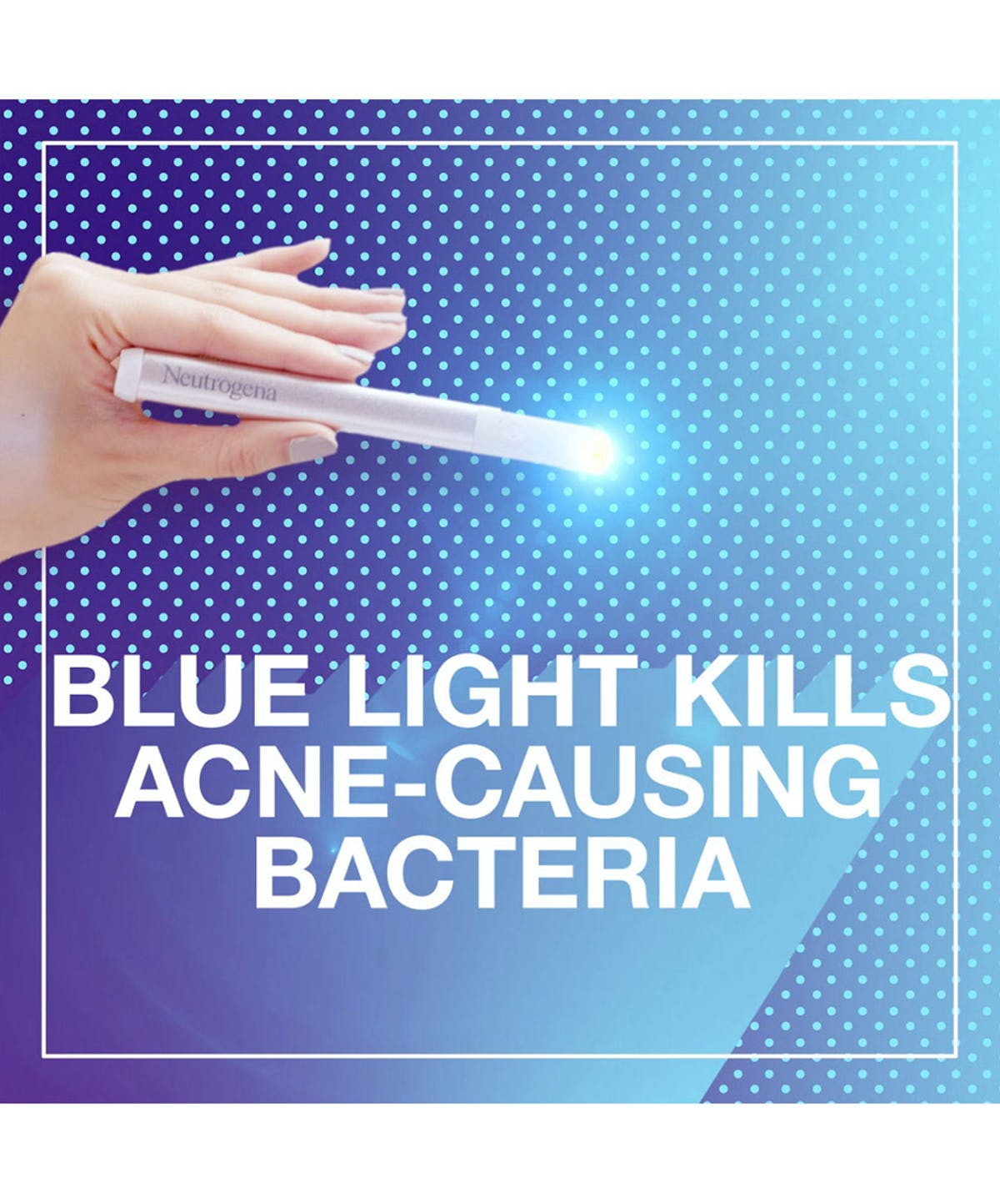 Blue Light Therapy Acne Spot Treatment Neutrogena 174