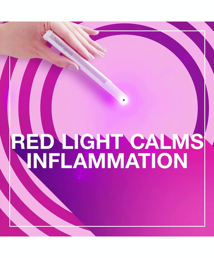 Red & Blue Light Therapy Acne Spot Treatment To Reduce Breakouts