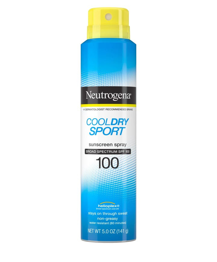 Cool Dry Sport Water-Resistant Sunscreen Spray, SPF 100, 5 oz