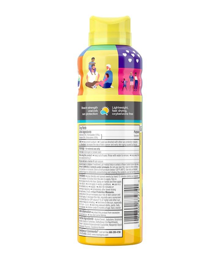 Neutrogena Beach Defense Spray SPF 70 - Limited Pride Edition