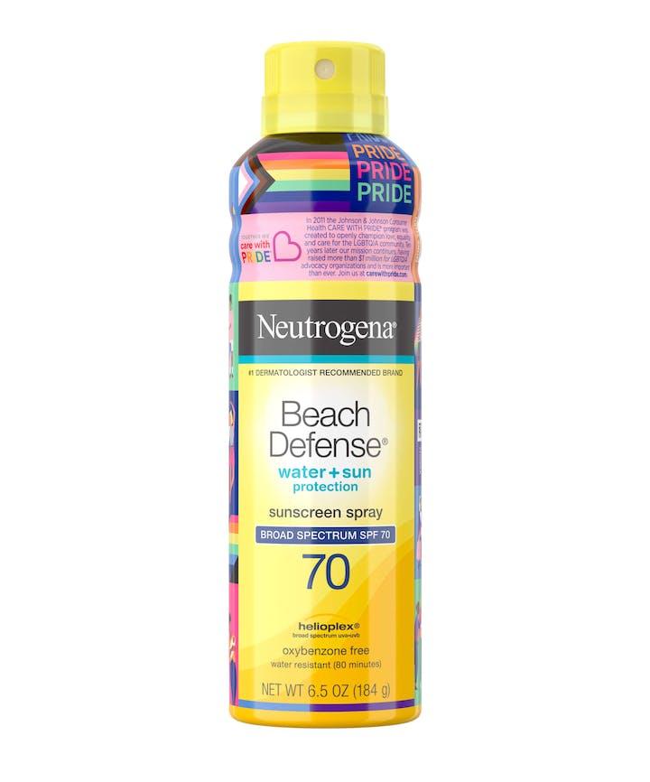 Neutrogena Neutrogena Beach Defense Spray SPF 70 - Limited Pride Edition
