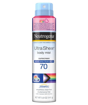 Neutrogena Ultra Sheer Spray SPF 70 - Limited Pride Edition
