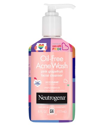 Neutrogena Oil Free Acne Wash Pink Grapefruit - Limited Pride Edition