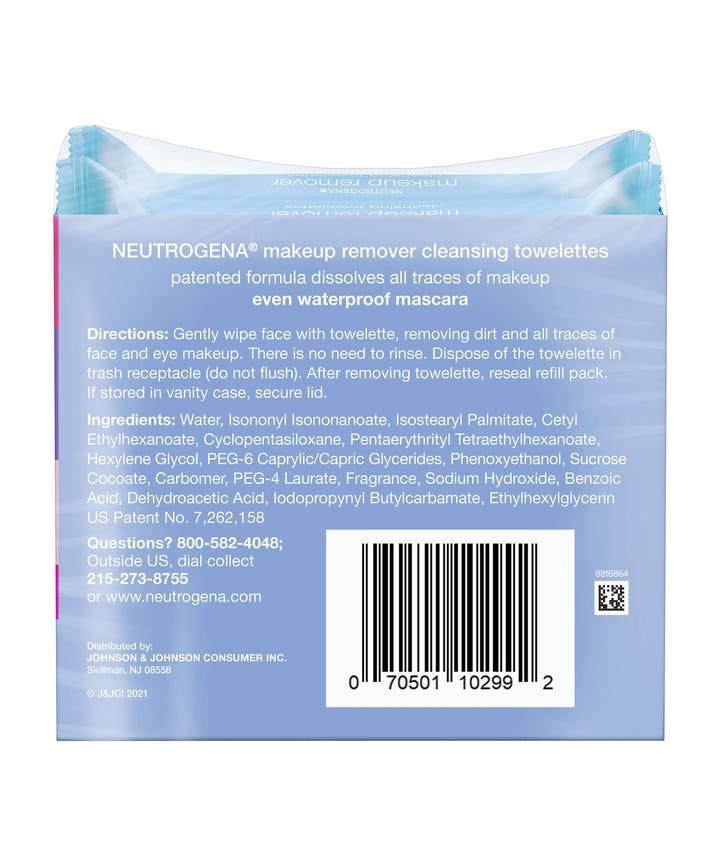 Ultra-Soft Makeup Remover Wipes for Waterproof Makeup - Limited Pride Edition