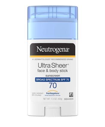 Ultra Sheer® Face + Body Stick Sunscreen Broad Spectrum SPF 70