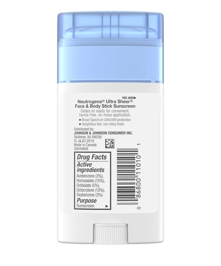 Ultra Sheer® Face + Body Stick Sunscreen Broad Spectrum SPF 70