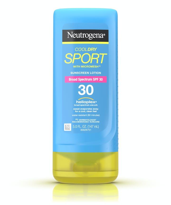 Neutrogena CoolDry Sport Sunscreen Lotion Broad Spectrum SPF 30