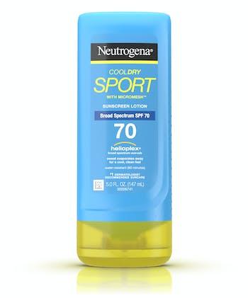 CoolDry Sport Sunscreen Lotion Broad Spectrum SPF 70
