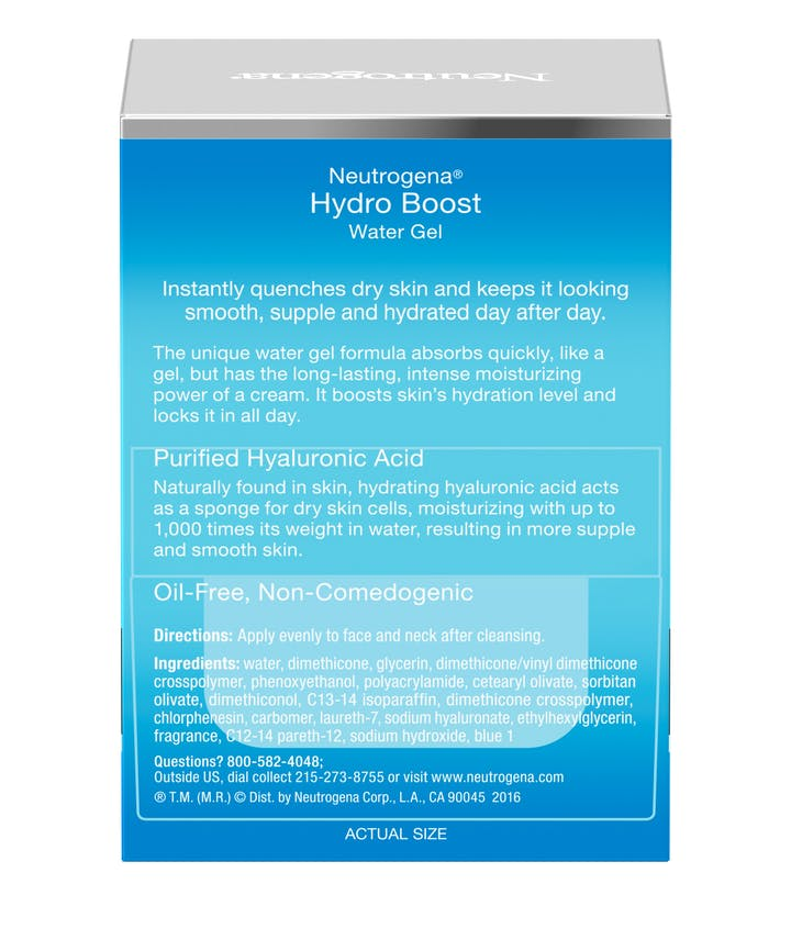 Neutrogena® Hydro Boost Water Gel with Hyaluronic Acid for Dry Skin