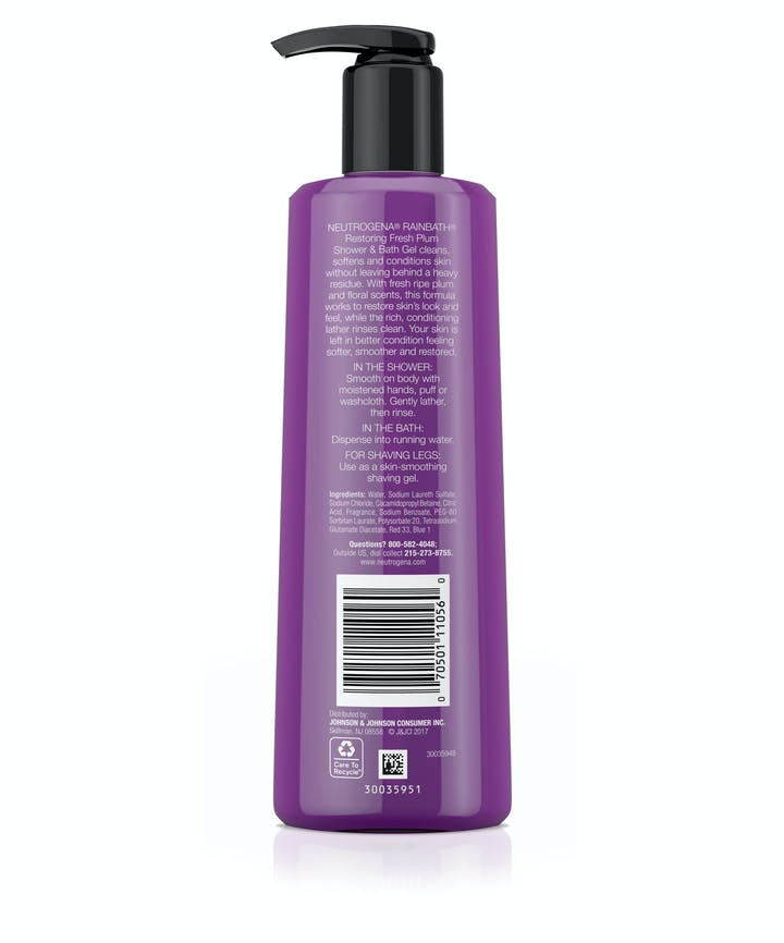 Rainbath® Fresh Plum Shower and Bath Gel