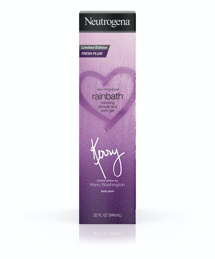 Neutrogena Rainbath® Fresh Plum Shower and Bath Gel – Kerry Washington Limited Edition