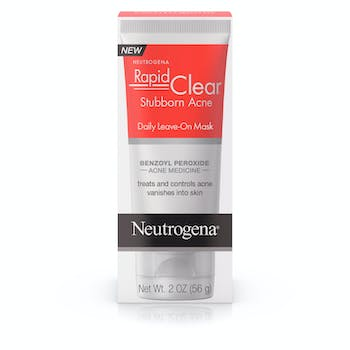 Rapid Clear Stubborn Acne Daily Leave-On Mask