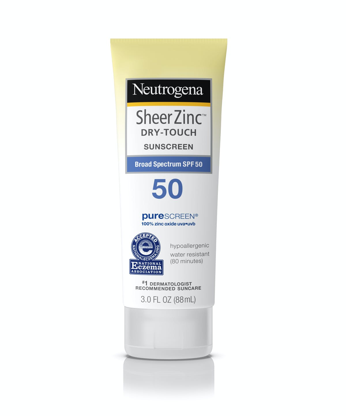 Sheer Zinc Face Suncreen Lotion Broad Spectrum Spf 50 Neutrogena Sunscreen Spf50 Dry Touch