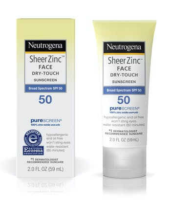 Sheer Zinc Face Dry-Touch Sunscreen Broad Spectrum SPF 50